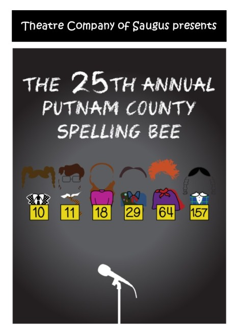 Spelling Bee image w TCS presents - 5x7 - 150dpi