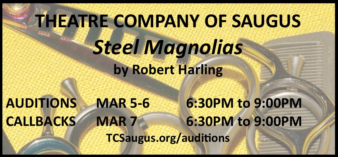TCS Steel Magnolias Audition Announcement