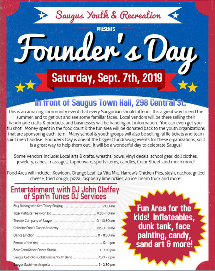 SaugusFoundersDay2019